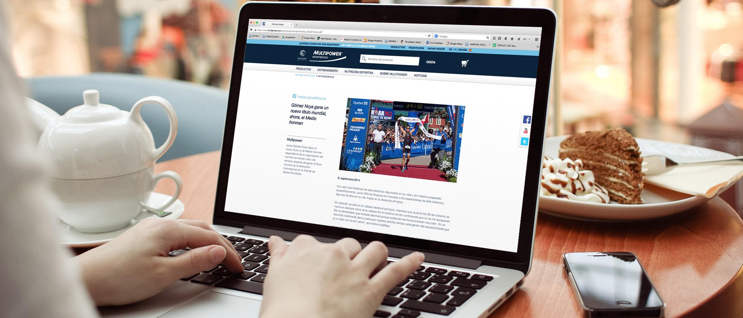 Comunicación online: actualización site